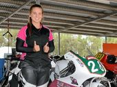 THERE was one female making waves at the Motorcycle Sportsmen of Qld – Southern Downs Road Race Series at Morgan Park.