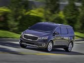 TOUGHER with a muscular appearance, the new 2015 Kia Grand Carnival has been revealed ahead of its Australian arrival early next year.