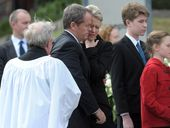 OPPOSITION leader Bill Shorten has farewelled his mother Ann Rosemary at a ceremony in Melbourne.