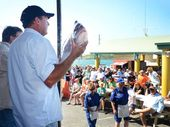 BIG WEIGH-IN: Two charity fish auctions will be held at the Easter Fishing Classic this year.