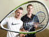 IPSWICH squash brothers Brandon and Lachlan Coxsedge are testing themselves against the best juniors in Australia during  the Easter long weekend.
