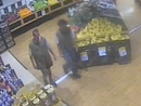 Fugitives caught on supermarket CCTV