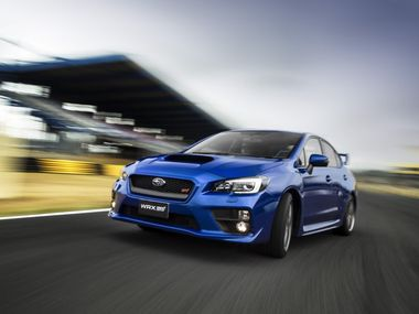 The new Subaru WRX STI.
