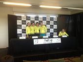 YOU wouldn't think the Australian Fed Cup team was out to break a 40-year drought in the international tournament, to be played in Brisbane this weekend.