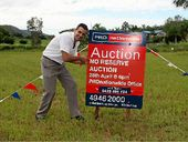 MUST SELL: Rob Taylor from PRDnationwide Whitsunday is excited to be hosting a no reserve auction for a vacant block on Hidden Court, Cannonvale at the PRD office on Monday, April 28 at 6pm.