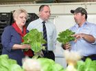 FEDERAL Minister for Agriculture Barnaby Joyce toured the Capricorn region yesterday after making a major announcement about Beef Australia 2015.