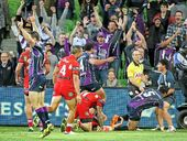 SEVERAL adages spring to mind in the aftermath of the controversial finish to Monday night's sensational clash between the Storm and Dragons.