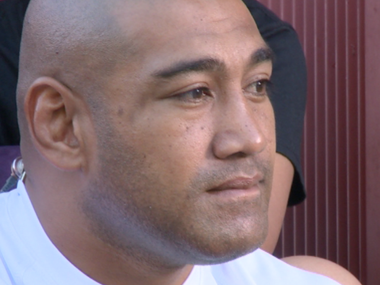 Slacks Creek boxer Alex Leapai.