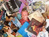 Lee Hillman, of Backbeat Records in Nambour, is covered for today's International Record Store Day.