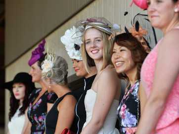 Fashions on the Field was a colourful affair at Ferguson Park's Easter festival race day on Saturday.
