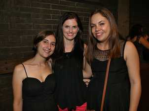 L-R Natalie Brook, Shannon Aitken & Alyssa Stanley at The Ginger Mule Photo Liam Fahey / Morning Bulletin