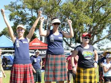 Maclean Highland Games on Saturday at the the Maclean Showground