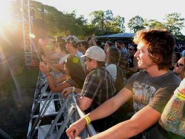 Bundaberg residents and Easter holiday visitors to the city enjoyed an evening at the Autumn Sounds Concert in Alexandra Park.