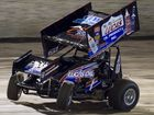 PETER Lack led the way for the home-town contingent as James McFadden wrapped up the Tri-City Shoot-out Sprintcar Series with victory Toowoomba Speedbowl.