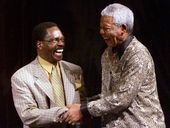 Rubin Carter meeting Nelson Mandela.