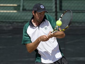 Defending champ Kaden Hensel faced Josh Barrenechea to claim the Easter Gold Cup in the men's final, while top-seed Naiktha Bains was dominant over Andrea Dikosavljevic for the women's Silver Cup at James St Tennis Centre.