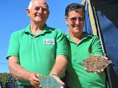 Bundaberg Gem and Mineral Society president Lester Rogers and his wife Jeneve are avid collectors and hunters of gems.
