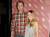 KRISTEN Bell admits her husband Dax Shepard is so obsessed with Brad Pitt that he's attached a portrait of the hunky star to their bed.