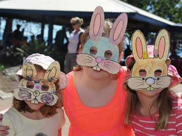 Crowds flocked to Scarness Park on Easter Saturday to enjoy a morning of Easter activities.