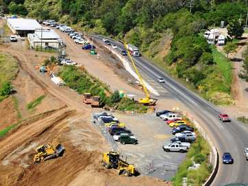 New section of eastbound lanes opens to traffic on the Toowoomba Range.