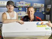 THE home air-conditioner is more than a luxury to Chris Hobart – it is a lifesaver.
