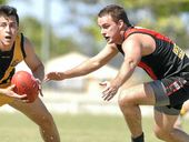 HOPEFUL: Jake Hayes is hoping to help his Ballina Bombers side achieve success in 2014.