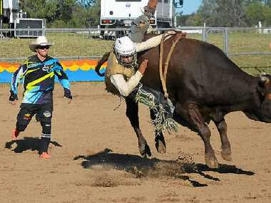 WEEKEND OF ACTION: Record numbers converged on the rodeo that featured top riders from all over Australia.