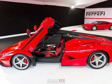 The LaFerrari is Ferrari's latest flagship model