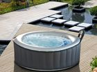 AN INFLATABLE spa from that shocks users when parts are exposed to water has forced hardware giant Bunnings Warehouse to recall it.