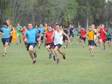 Xavier Catholic College held its annual school cross country around the school grounds.