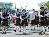 The Hervey Bay RSL Pipe Band has been playing at commemorative events across the Fraser Coast for 15 years.
