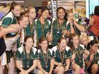 THE Ipswich under-14 girls may not have been the biggest or most athletic team at the state titles.