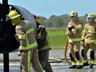 New recruits at Mackay's Aviation Rescue Fire Fighting Station