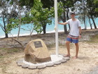 A NEW memorial to honour the fallen has been erected at Dingo Beach as a result of the community spirit and perseverance of local resident Joseph Howie.