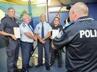 MARYBOROUGH Police Patrol Group officers have been recognised for their service to the community in a ceremony at the Hervey Bay PCYC on Thursday morning.