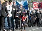 THOUSANDS clapped and cheered as veterans marched and rode in Jeeps from the Toowoomba CBD down Margaret St for the Anzac Day parade.