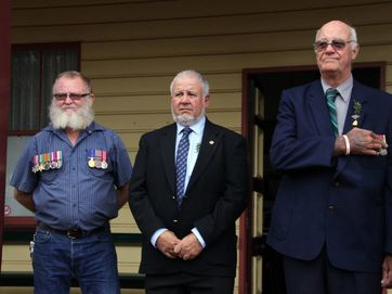 A selection of photographs from the Anzac Day ceremony held at Childers.