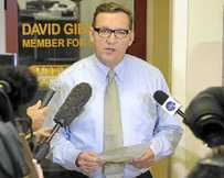 UNDER FIRE: Gympie MP David Gibson has stood down as chairman of the select ethics committee.
