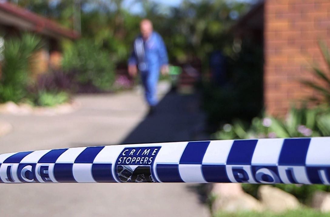Forensic investigators at the Coffs Harbour family home of the toddler, who police allege was murdered by a 23-year-old man.