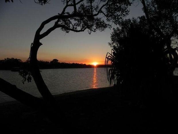 Sunset at Bradman Avenue, Maroochydore - User Contributed