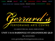 Gerrard's Performing Arts Centre - Performing Arts Education and Services - Logan Area Professional Dancers and sisters Hayley Gerrard and Heather Barraclough have opened up a new and exciting dance centre, bringing their international performing experience to Logan.