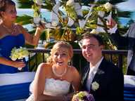 Lucy Fraser and Scott Wallace were married at Waters Edge Resort on Saturday 7th September 2013.