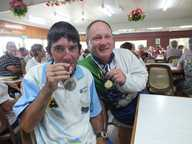 A KEEN member of the 1770 Bowls Club won silver in the Multi Disability State Championships earlier this month.