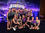 Sunshine Coast Cheerleading took 2 teams to Melbourne for their AASCF National Competition and came back National Champions in 2 divisions.