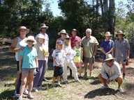 The Friends of the Park, Bakker Park Reserve Bonville, group recently received a grant to commence establishment of a wildlife corridor at the rear or the park.