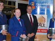 IN A fundraiser that started only last week, Downlands College has already raised $3748 for the Buy A Bale campaign, supporting rural communities in drought.