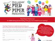 Mullaway Pied Piper Preschool is turning 20 yrs old this year, that's 20yrs of giving back to the community and educating our children!