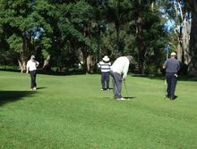 St Vincent's Private Hospital Corporate Golf Day