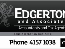 EDGERTON & ASSOCIATES - CPA, HAS MOVED PREMISES