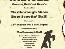 Marlborough Show Ball